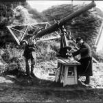 Pozorovanie zatmenia Slnka v Cormeilles (Francúzsko, 1912)